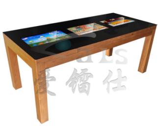 21.5寸三屏互动触摸桌