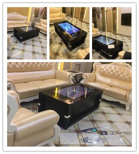 深圳某国际交易平台订购并使用智能茶几和触摸桌